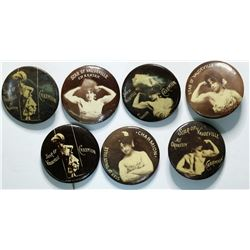 Charmion: Star of Vaudeville Pin Backs  (114306)