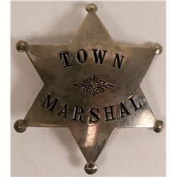 Town Marshal Badge c.1900-1915  (112754)