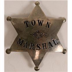 Town Marshal Badge c.1900-1915  (112754)