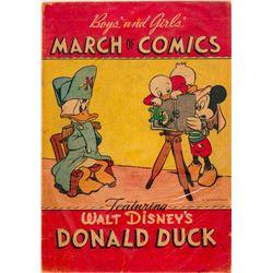 March of Comics #4 Featuring Walt Disney's Donald Duck (Carl Barks) - RARE COMIC BOOK!  (110156)