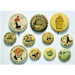 Old Comic Pin Backs  (114307)