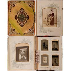 Photo Album .c 1890's  (109007)