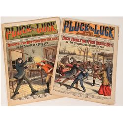 Pluck and Luck Adventure Stories, Weekly Youth Publications (2), 1905-07  (112662)