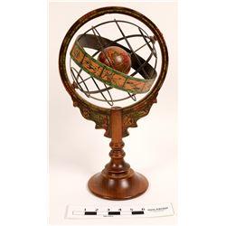 Vintage Antique Astrological Globe  (112350)