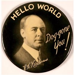 W.K. Henderson Hello World Advertising Mirror  (110589)
