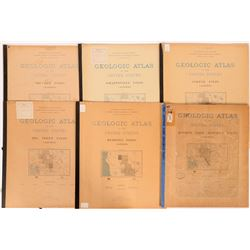 California USGS Geologic Folios (6)  (112304)