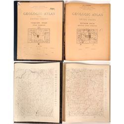Indian Territory USGS Geologic Folios  (112324)