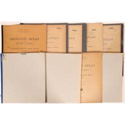 Indiana - Illinois USGS Geologic Folio Group (9)  (112315)