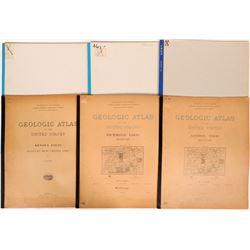 Kentucky USGS Geologic Folios (5)  (112323)