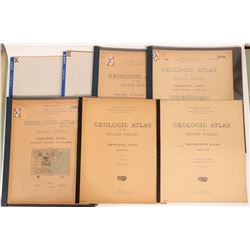 Maryland USGS Geologic Folios (7)  (112318)