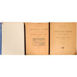 Michigan-Minnesota USGS Geologic Folios  (112321)