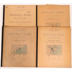 New York, Massachusetts, Maine USGS geologic Folios  (112199)