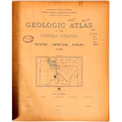 Tintic Mining District USGS Folio  (112195)