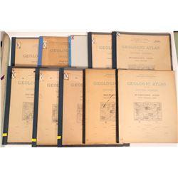 Virginia- West Virginia  USGS Geologic Folios (10)  (112312)