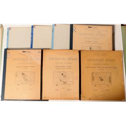 Wyoming USGS Geologic Folios  (112301)