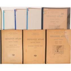 Southern States USGS Geologic Folios (7)  (112196)