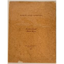 Yukon Gold Company 1935 Annual Report  (112098)
