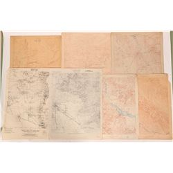 Arizona 1:125,000 Series Topo Maps (old), c 1895-1910  (112201)