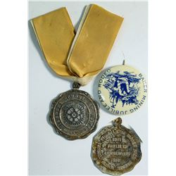 Missouri School of Mines Anniversary medal 1911  (112384)