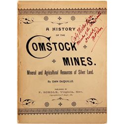 A History of the Comstock Mines by Dan DeQuille  (112116)