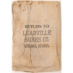 Leadville Mines Co. Ore Bag  (114346)