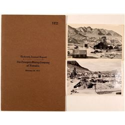 Tonopah Mining Company Annual Report and Photographs  (112115)