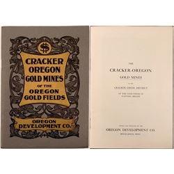 Cracker-Oregon Gold Mines Prospectus  (112064)