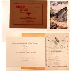 State of Oregon Mining Prospectuses  (112063)