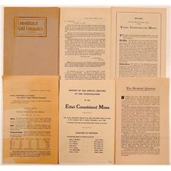 Mining Prospectuses: Ethel Consolidated and Consolidated Gold  (112119)