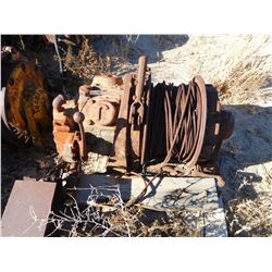 Slusher winch, air (tugger)  (114153)