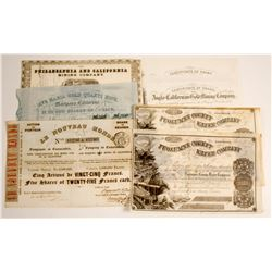 California Gold Rush Stock Collection (7)  (79962)