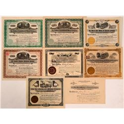 Boulder County, Colorado Mining Stock Collection  (107859)