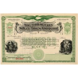 Maid of Erin Specimen Stock Certificate, Leadville, Colorado  (111389)