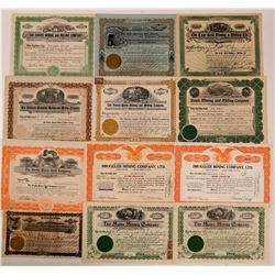 Colorado Mining Stock Certificate Collection  (107860)
