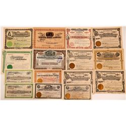 Goldfield, Nevada Stock Certificate Group #2  (111037)