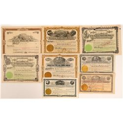 Manhattan, Nevada Stock Certificates- Group 1  (111010)