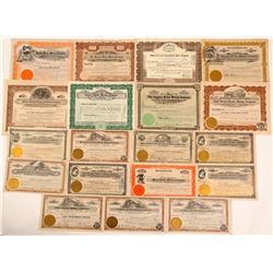 Tonopah Divide District Stock Certificates- Group 2  (111003)