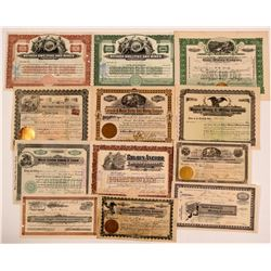 Tonopah, Nevada Stock Certificate Group #6  (111043)