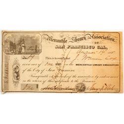 Mercantile Library Association Stock  (88179)