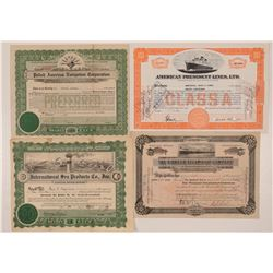 Marine Stock Certificate Group  (112045)