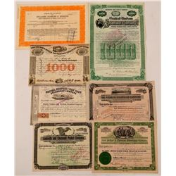 Steamer Stock  Certificate Collection  (112044)