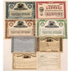 Northern Indiana Railroad, Railway and Transit ctocks  (112243)