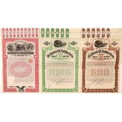 Two Kansas Railroad Co. Bonds  (112010)