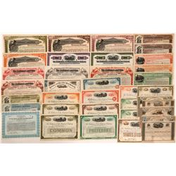 Baltimore and Ohio Railroad Stock and Bond Collection  (111055)