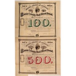 Eaton County Railroad Company Bonds  (107879)