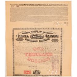 The Ionia & Lansing Railroad Co  (112273)