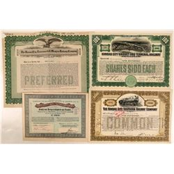 Various Kansas City RR certificates  (112024)