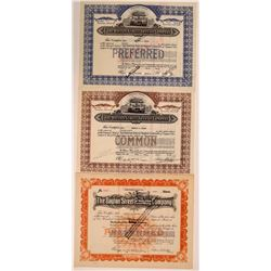 Dayton Street Transit Company Stocks, 2 Common and 1 Preferred Certificates  (111021)