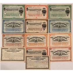 Cincinnati, Washington & Baltimore Railroad Stock Group (13)  (111311)