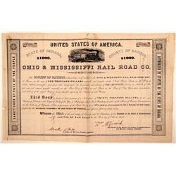 Ohio & Mississippi Rail Road Co.  (110999)
